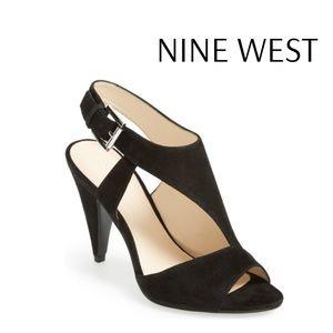 Nine West Shape Up Suede Sandal